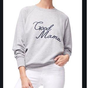 Good American Tops - Good American good mama sweatshirt